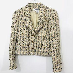 Carlisle Tweed Wool Silk Blend Jacket
